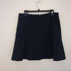 NEW Ann Taylor Black Skirt Size 12